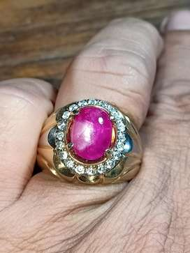 Ruby burma windusara kristal