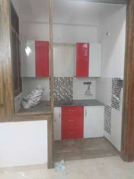 top floor flat with roof right and park facing 740 sqft