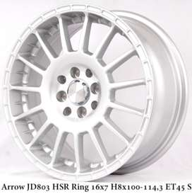 ARROW JD803 HSR R16X7 H8X100-114,3 ET45 SILVER