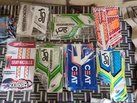 Cricket bat sticker Mrf, kokaburaa, gray nicolls..