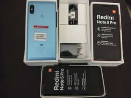 Redmi Note 5 Pro 6GB RAM 64GB ROM Brand New Condition with Bill Box
