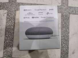 Google Home Mini(Unsealed) Brand New