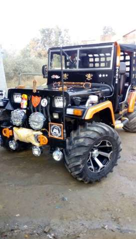 Mahindera willys jeep Ac power steering ppwer