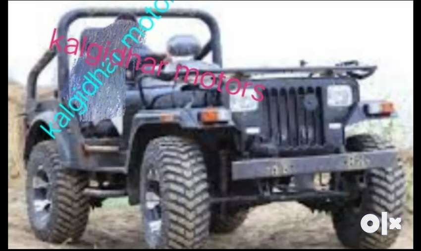 Modified open Willy jeep 0