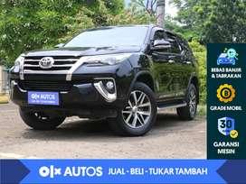 [OLXAutos] Toyota Fortuner 2.4 VRZ Solar A/T 2016 Hitam