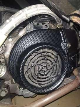 Cover kipas carbon honda 110 fi(beat,vario,scoopy)