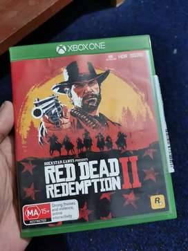 Reddead redemption 2 for xbox one