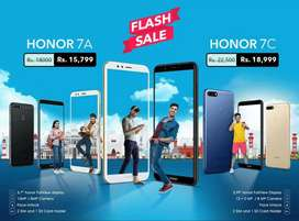 HONOR 7A(2+16) & HONOR 7C(3+32) Box pack 1 year warranty