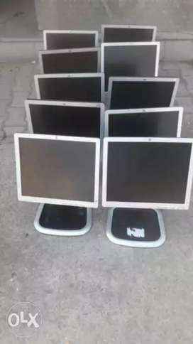 Hp 17inches LCD monitor new condition with warranty