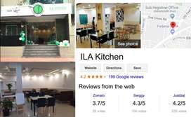 Running Restaurant for Sale (4.2+ rating in Google and Swiggy)