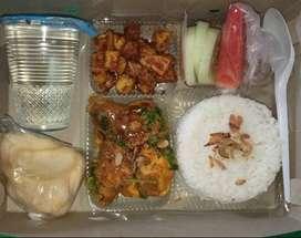nasi kotak dan nasi bento murah meriah