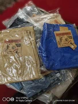 Jeans Pent Whole Sale Price 30 piece in bundle