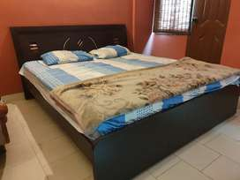 Bed in Good Condition with Spring Mattress