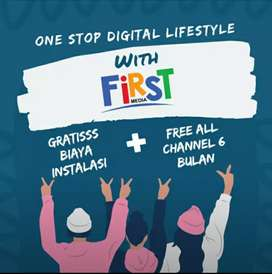 Wifi first Media internet paket hemat
