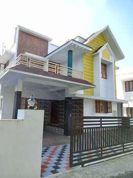 5 cent 2400 sqft 4 bhk new build house at kakkanad nrar navodhaya