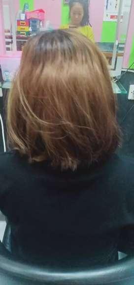 Hair coloring pewarnaan rambut