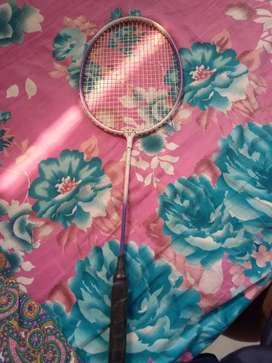 Badminton racquet at 100