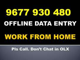 OFFLINE DATA ENTRY Jobs. Image To NOTEPAD Typing Work At Home. Contact