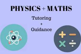 Physics and Maths for class 8,9 &10