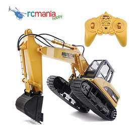 Huina 1550 15 channel Excavator with metal shovel RC Alat Berat
