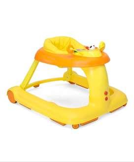 Chicco 123 Baby Walker - Orange (Premium)