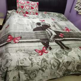 Pure cotton bedsheets. New collection. King size