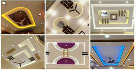 New Design pop ceiling work Home Decor pakistan  0333          5797967
