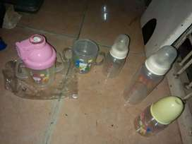 Borongan bbrp botol susu baby kond baru cpt dpt yah hrg murah sj tuh