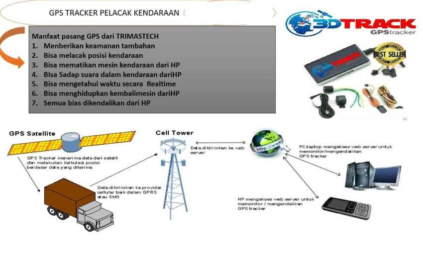GPS TRACKER 3DTRACK PELACAK KENDARAAN SECARA REALTIME + PASANG 0