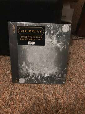 Cd compact disc import coldplay everyday life baru dan segel