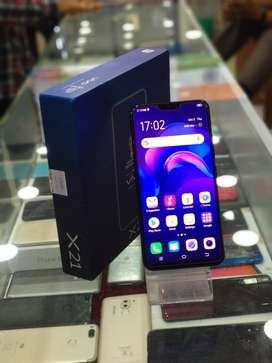 Vivo X21 6GB 128GB (Black) In Brand New Condition Fully Working Phone