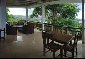 Disewakan bulanan Rp 6 juta, rumah type apartment, pemandangan indah.