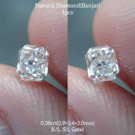 Berlian Banjar 0.38 Carat Natural Diamond (IG)