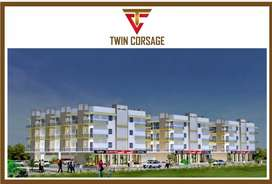3 BHK flat in Twin Corsage