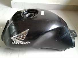 Unicorn 150 CC Tank black color