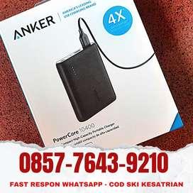 《BARU & SEGEL》Powerbank ANKER Powercore 10400mAh Hitam - A1214