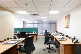 Area of 1100 sqft space available on lease in chd