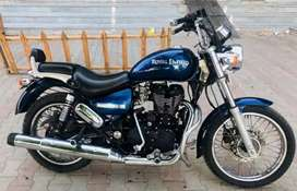 Royal Enfield Thunderbird 350 newly condition loudest bullet in Guna