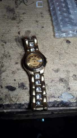 Watch swistar brand 23k Gold ELECTRO PLATED
