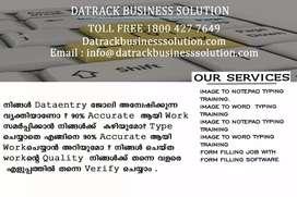 Home Based Data Entry Job In Kerala