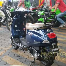 Vespa LX150 2012 Blue Dark, Antik simpanan Nopol Malang Zaky Mustika