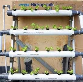 Satu set pipa Hidroponik Set