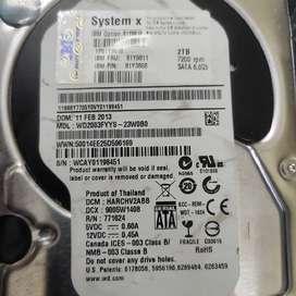 IBM 2TB 7200 rpm SATA 6.0 GB System x