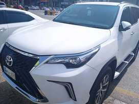Fortuner 2020 full option available for rent 7 seater