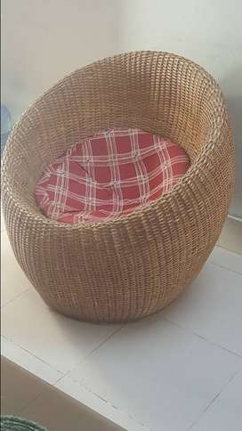 Cane one Seater Sofa (good condition)