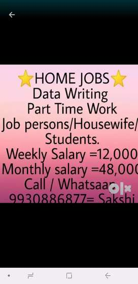 Home work job