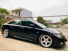 Garansi1Th Honda Civic FD Sunroof,VR19 FullBodyKit,Mulus Bs TTmbh