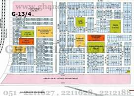 ISLAMABAD G-13/4  Ideal LOCATION MAIN BULEVARD PLOT for sale