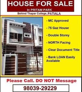 Pritam Park - Behind Thapar College