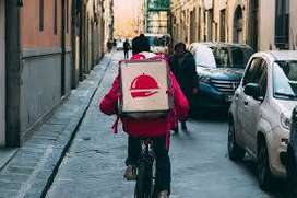Delivery person with qualified